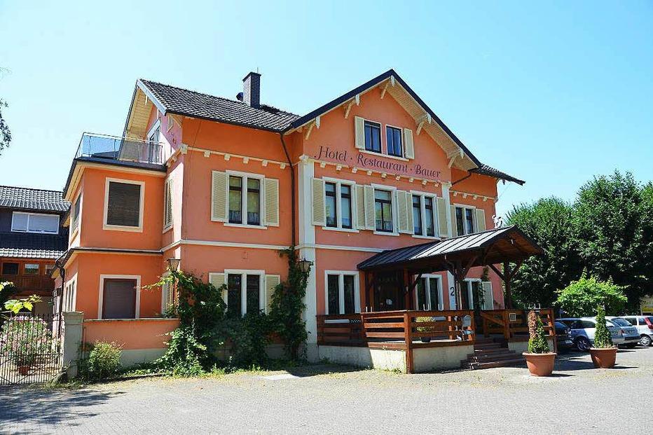 Ehemaliges Hotel Bauer - Müllheim