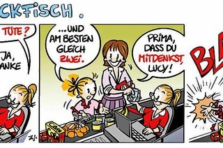 Lucy Backfisch: Blam!