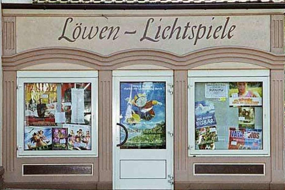 Kino Kenzingen - Badische Zeitung TICKET