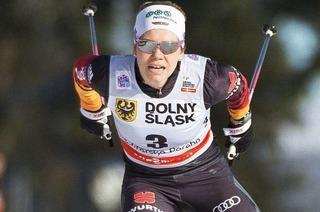 Sandra Ringwald durchl�uft ihren erfolgreichsten Winter