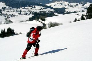 Gef�hrte Schneeschuhwanderungen rund um Bernau