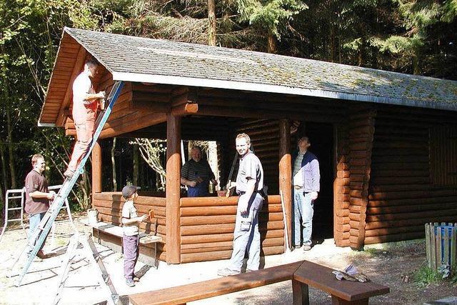 Bruckenholzhütte (Berau)