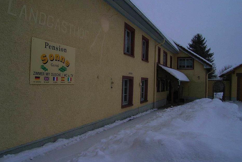Pension Sonne (Hottingen) - Rickenbach