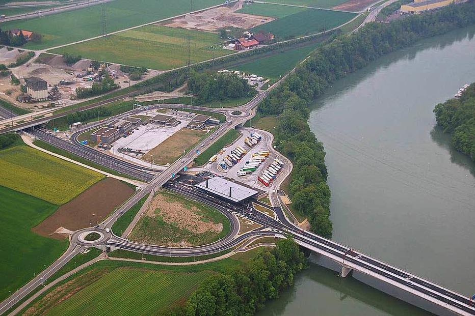 Gemeinschaftszollanlage Rheinfelden-Autobahn - Rheinfelden