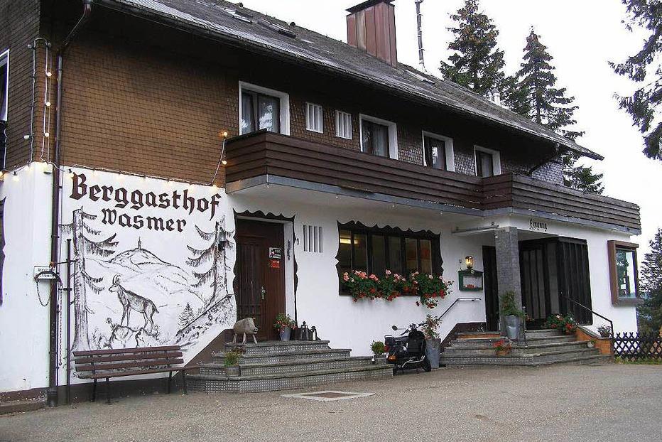 Berggasthaus Wasmer auf dem Feldberg - Todtnau
