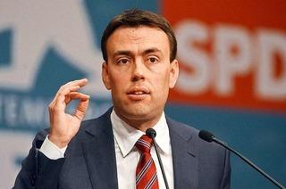 SPD-Spitzenkandidat Nils Schmid im BZ-Dialog