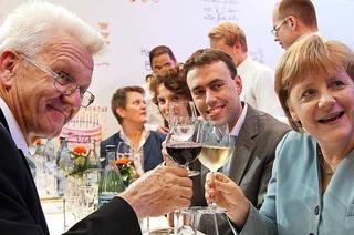 """CDU-Mitglied : """"Der Kretschmann stalkt Merkel doch geradezu"""""""