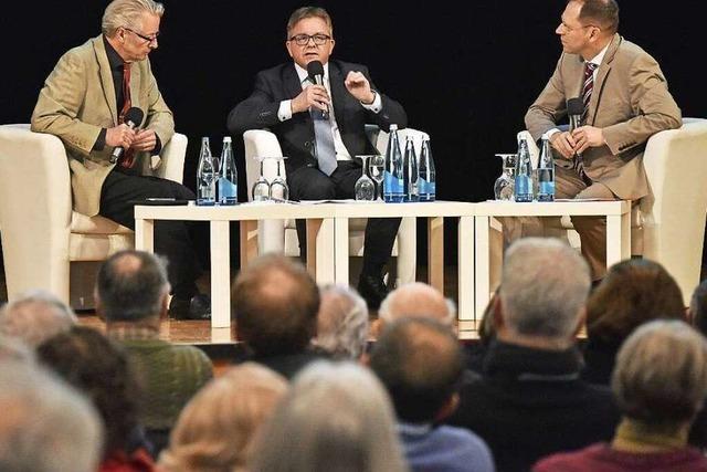 Wie war's bei... Guido Wolf im BZ-Dialog in Freiburg?