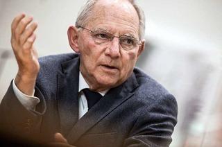 """Schäuble zum Wahlkampf: """"Besser isch Attacke"""""""