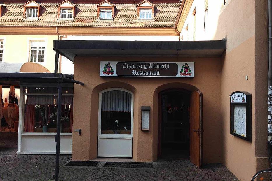 Gasthaus Erzherzog Albrecht - Freiburg