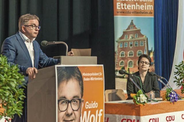 Wie war's bei...Guido Wolf in Ettenheim?