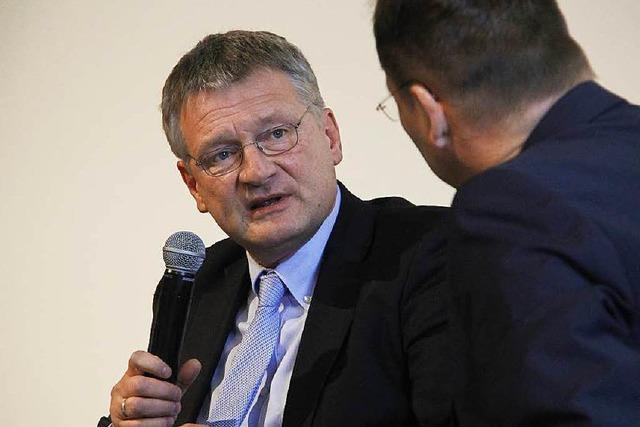 Wie war's bei… Jörg Meuthen im BZ-Dialog in Bad Krozingen?