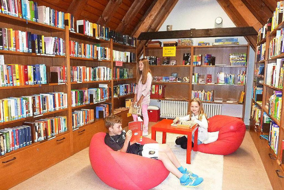 Zehntscheuer Kinderbibliothek - Teningen