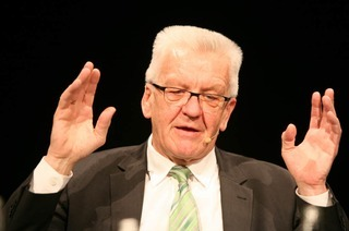 Wie war's bei...Winfried Kretschmann im BZ-Dialog in Lahr?