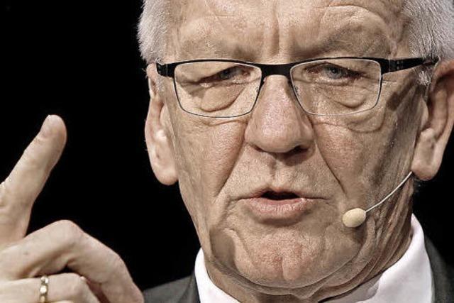 Winfried Kretschmann, der Kanzlerinnen-Versteher