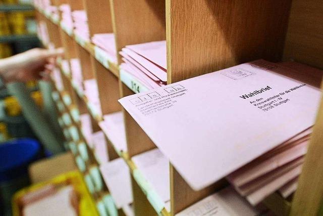 Die Briefwahl wird immer beliebter