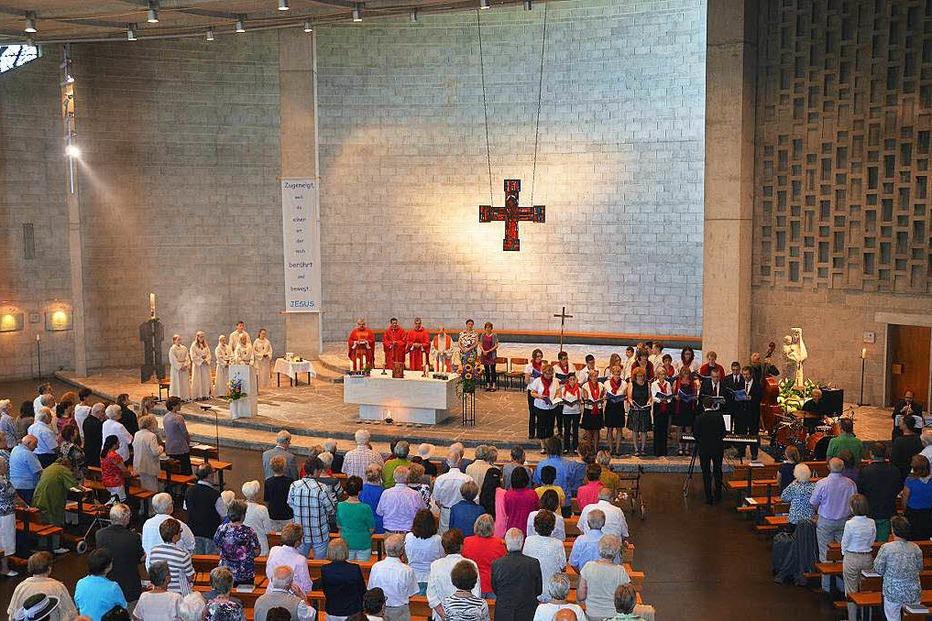 Kath. Kirche St. Peter - Lörrach