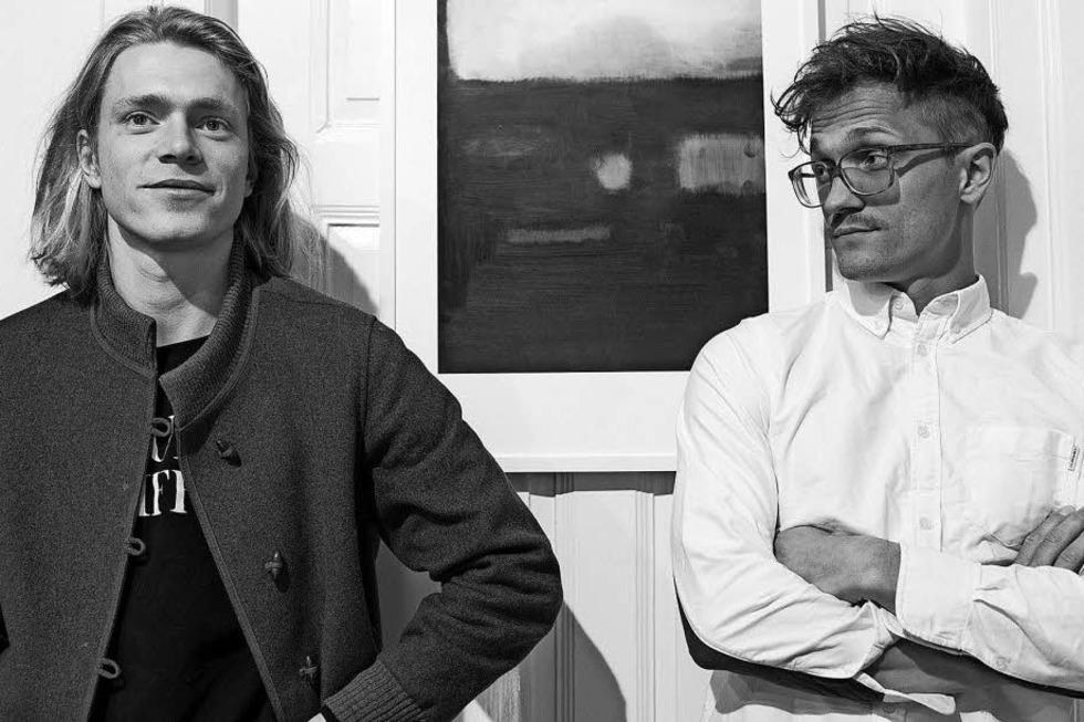 Die Künstler Thomas, Tilman und Nathan Egel stellen in Müllheim aus - Badische Zeitung TICKET