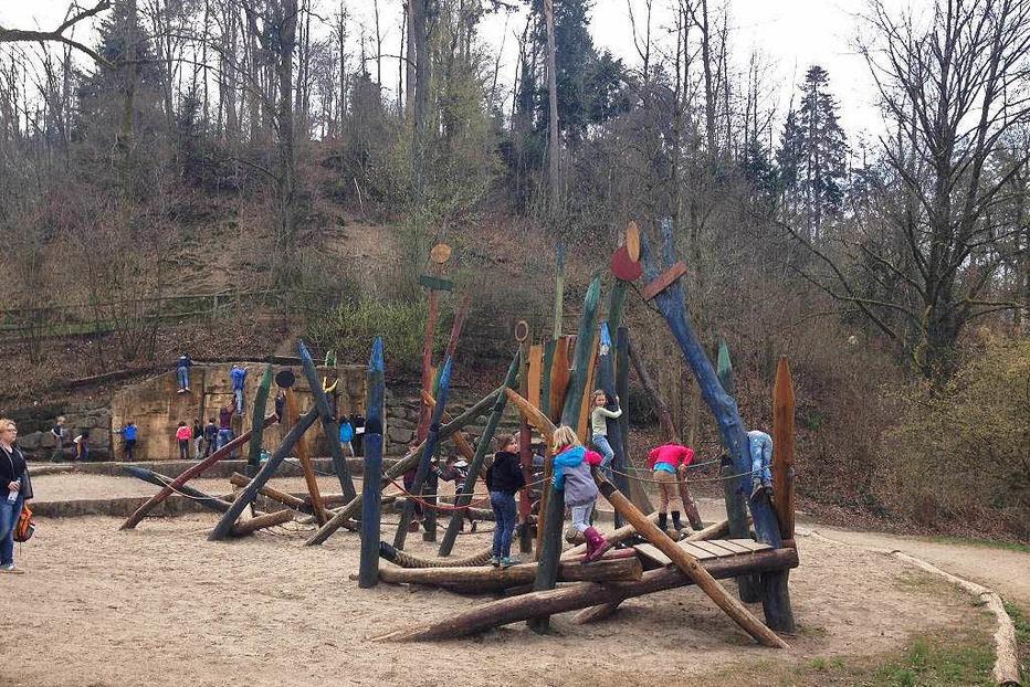 Spielplatz am Stadtrainsee - Waldkirch
