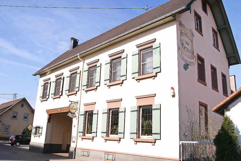 Gasthaus eintracht mei enheim badische zeitung ticket for Villa eintracht