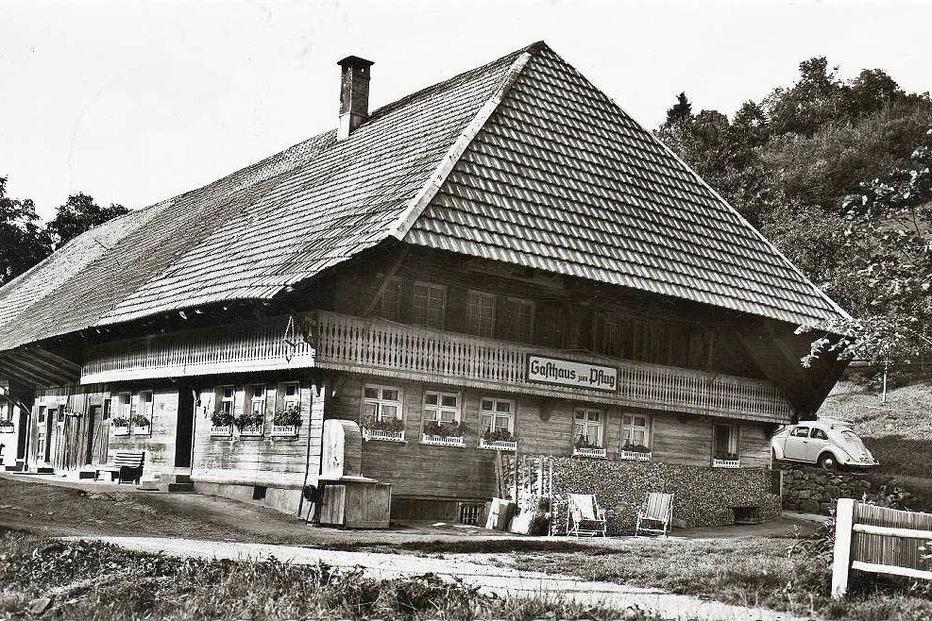 Gasthaus Pflug Künaberg (geschlossen) - Schönau