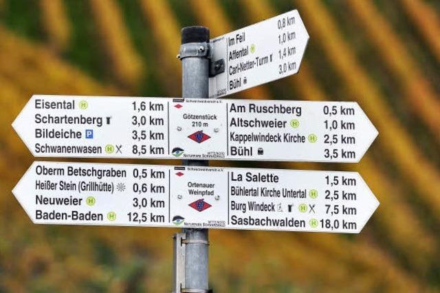 Weinwege am Oberrhein (15): Von Bühlertal nach Baden-Baden