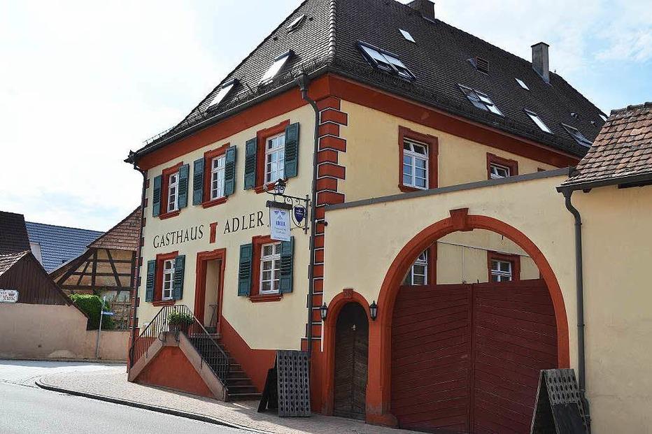 Gasthaus Adler (Wittenbacher Hof) - Gottenheim