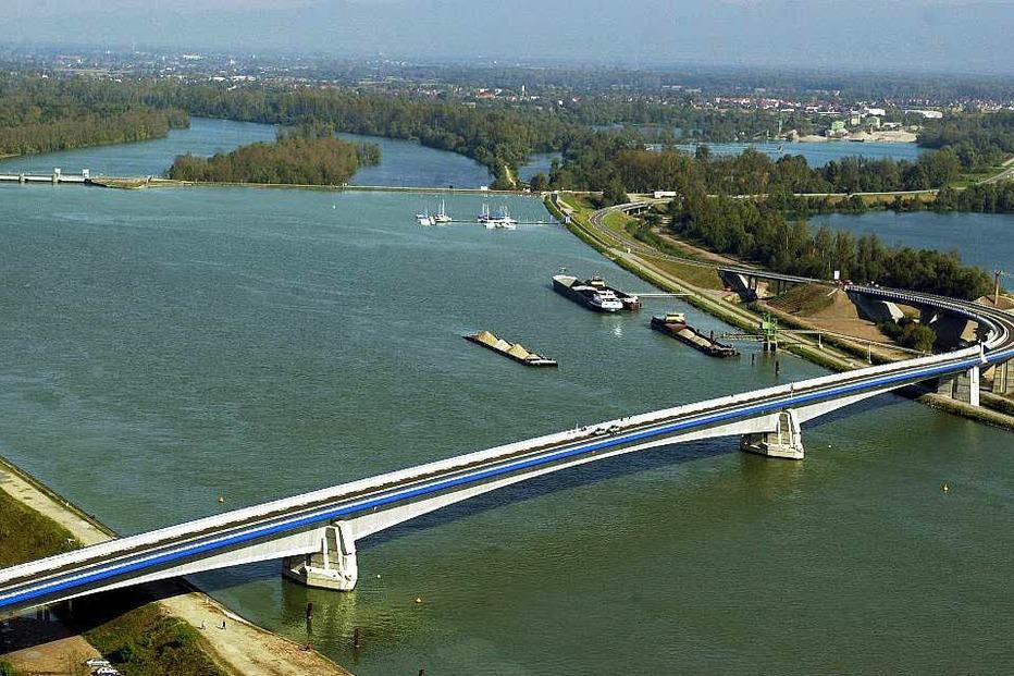 Pierre-Pflimlin-Brücke (Altenheim) - Neuried