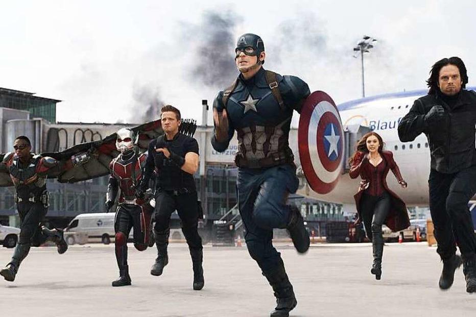 The first Avenger – Civil war - Badische Zeitung TICKET