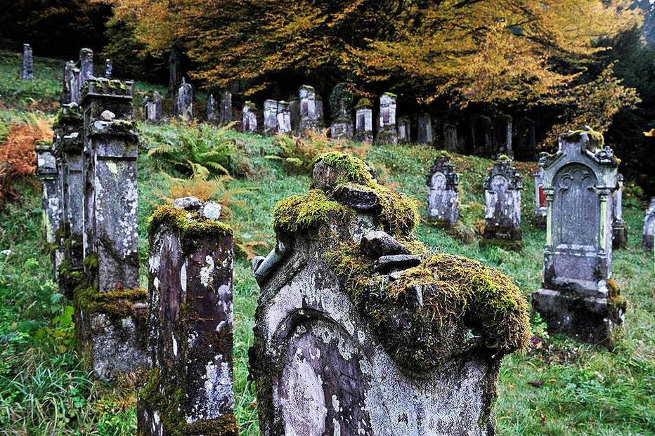 J�discher Friedhof - Sulzburg