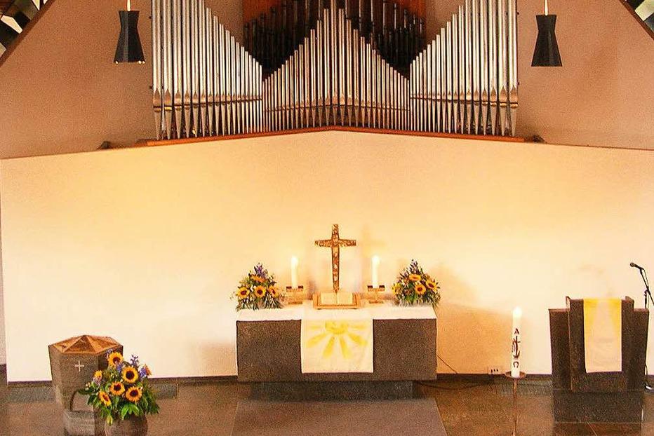 Evang. Kirche Paul-Gerhardt-Gemeinde (Kollnau) - Waldkirch