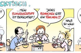 Lucy Backfisch: Bohneneintopf