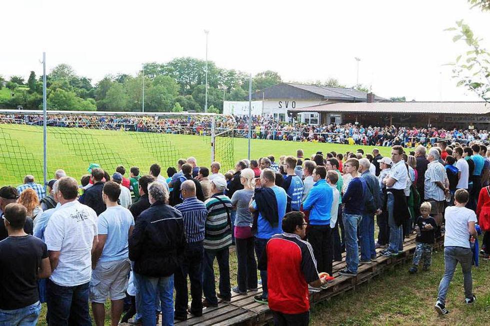 Aubergstadion (Oberschopfheim) - Friesenheim