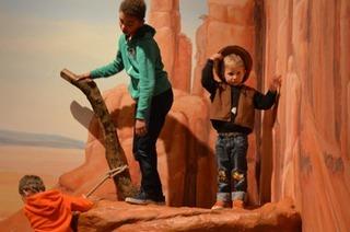 Die Ausstellung Cowboy & Indianer im Landesmuseum