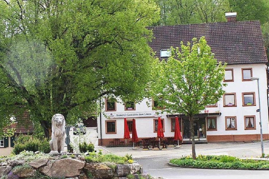 Gasthaus Zum L�wen - Br�unlingen