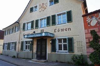 Gasthaus L�wen Wolfenweiler (geschlossen)