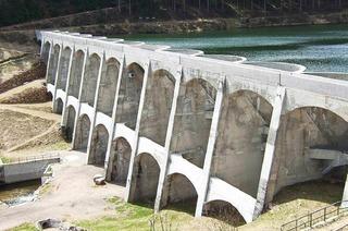 Staumauer Linachtalsperre