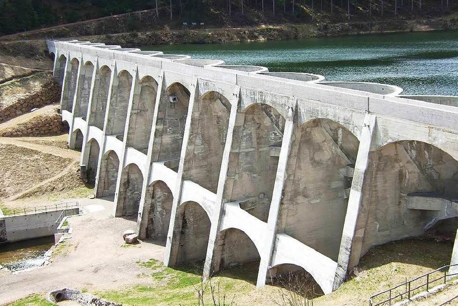 Staumauer Linachtalsperre - V�hrenbach