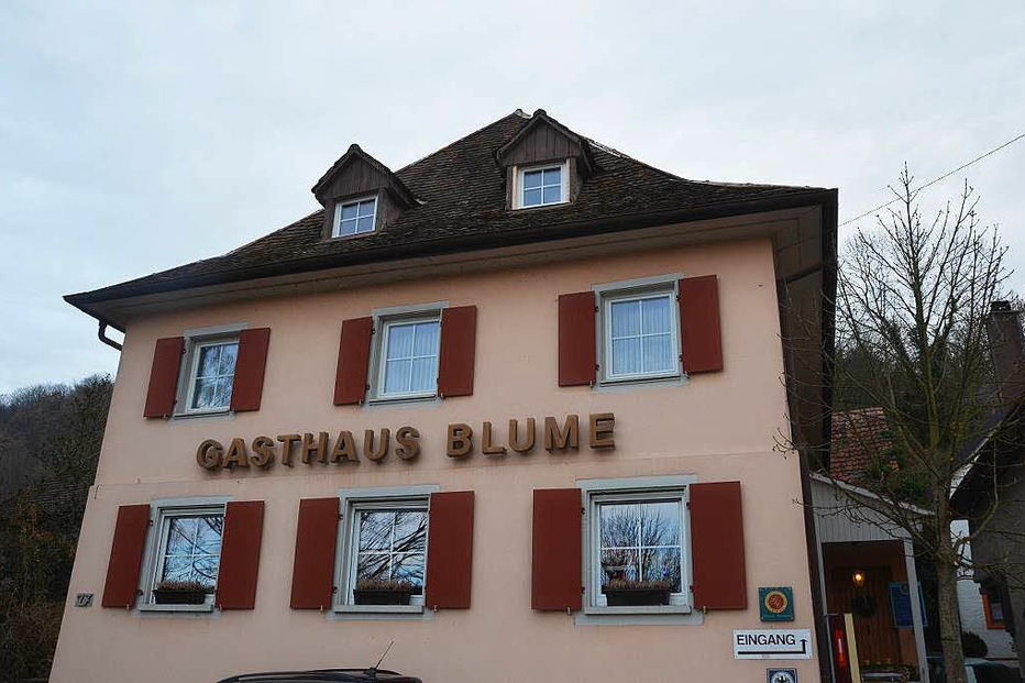 Gasthaus Blume Kleinkems - Efringen-Kirchen