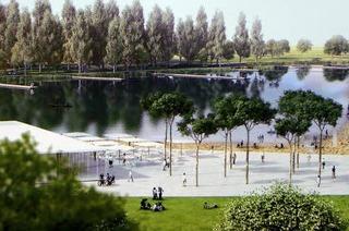 Das Herzstück des neuen Seeparks