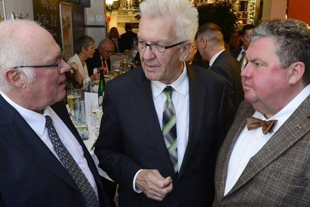 So feiert die BZ mit Ministerpräsident Kretschmann