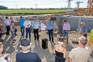Was tut sich auf der Baustelle Wasserpark