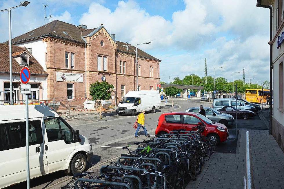 Bahnhofsplatz - Emmendingen