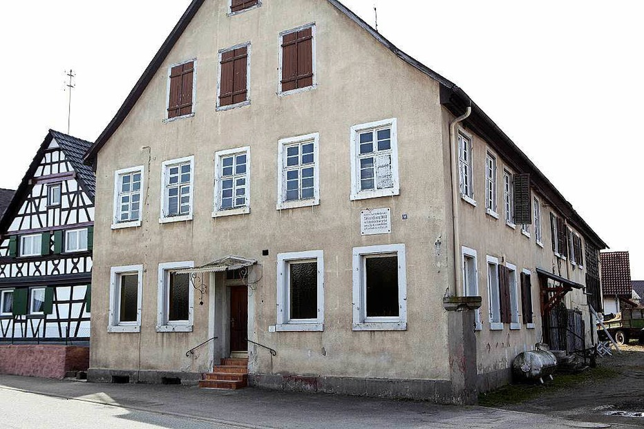 Gasthaus Kreuz Kürzell (geschlossen) - Meißenheim