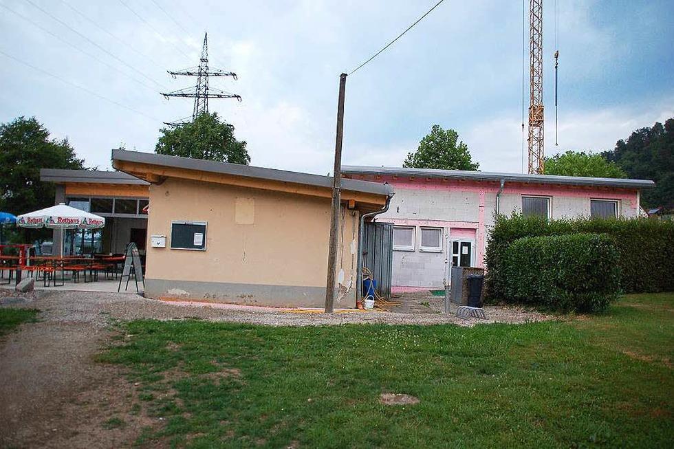 Wassersportverein Rheinstrom (Bootshaus) - Schwörstadt