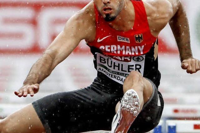 Hürdensprinter Matthias Bühler hat kühlen Kopf bewahrt