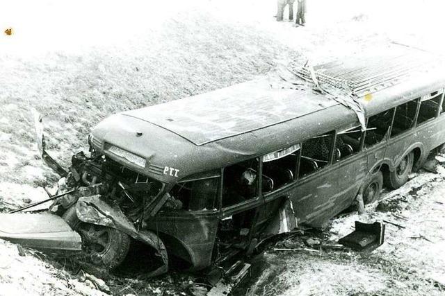 Busunglück vor 67 Jahren: Ein Überlebender erinnert sich