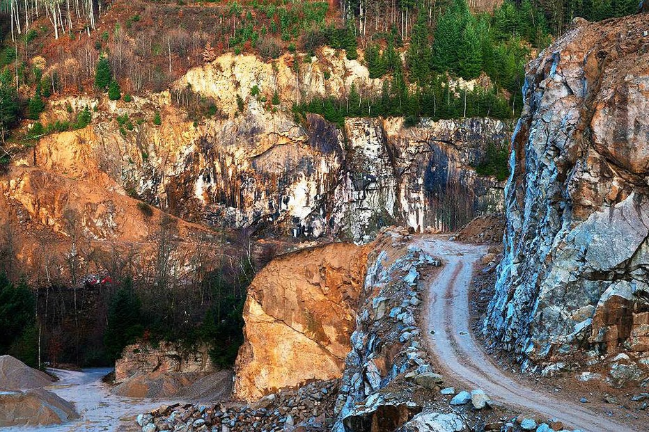 Steinbruchgelände Dörflinger - Malsburg-Marzell