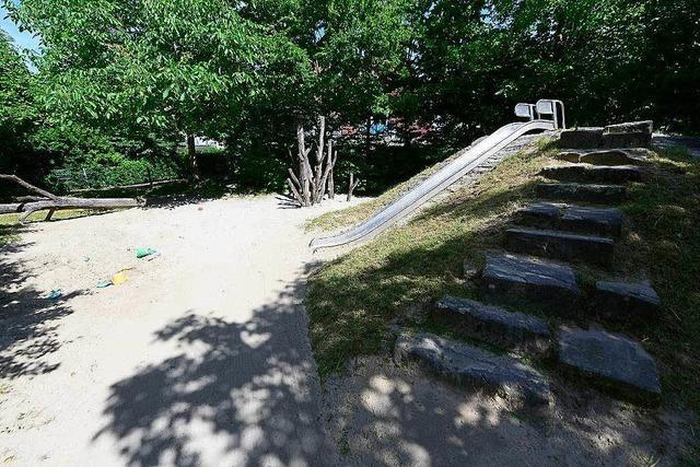 Spielplatz auf der Kinzig (Tiengen)