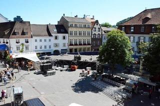 Stimmen-Festival zieht wieder an Marktplatz – das gef�llt nicht allen